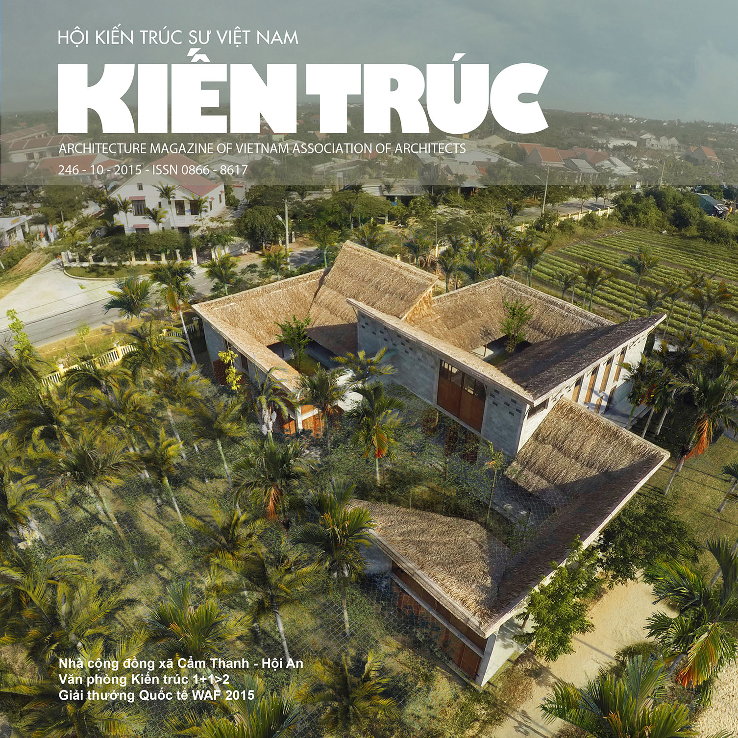 Tạp chí Kiến trúc số 10-2015