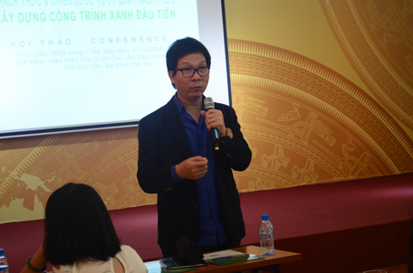 KTS Lê Trương – Tổng giám đốc CTTV Kiến trúc – Xây dựng TT Associates