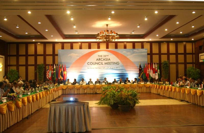 Phiên họp Arcasia năm 2011 diễn ra tại Đà Nẵng, Việt Nam