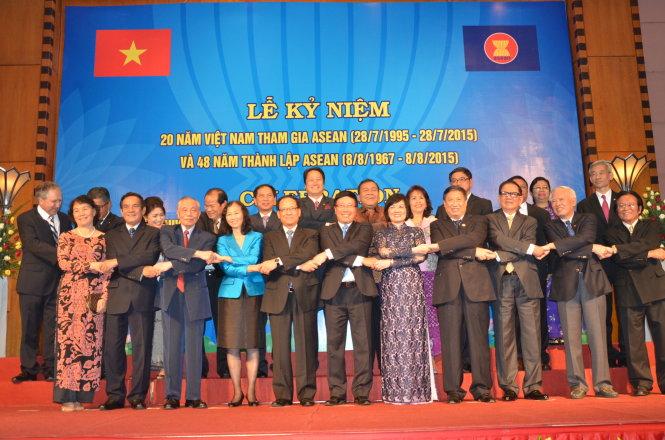 Lễ kỷ niệm 20 năm Việt Nam tham gia ASEAN, Hà Nội , ngày 28/7/2015