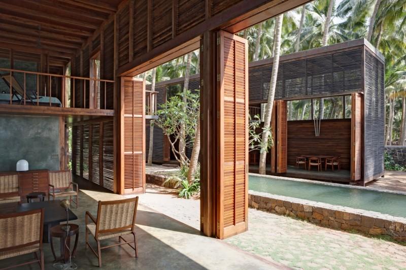 Palmyra house, Alibagh, Ấn Độ – Giải thưởng Aga Khan – một dạng kiến trúc nhiệt đới thông gió tự nhiên điển hình (KTS Bijoy Jain – studio Mumbai) (Nguồn: http://www.akdn.org)