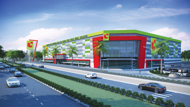 Trung tâm Thương mại Big C Nha Trang Công trình được chứng chỉ công trình xanh LOTUS bạc