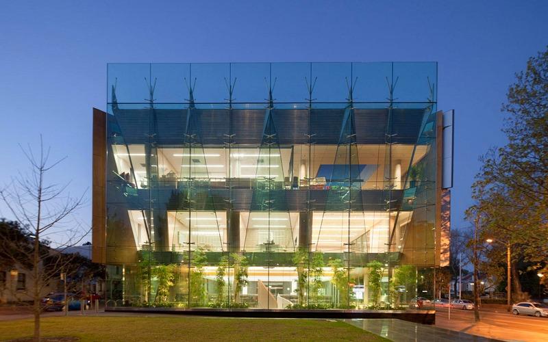 Thư viện Surry Hills, Sydney, Australia với hệ thống lam chắn nắng động