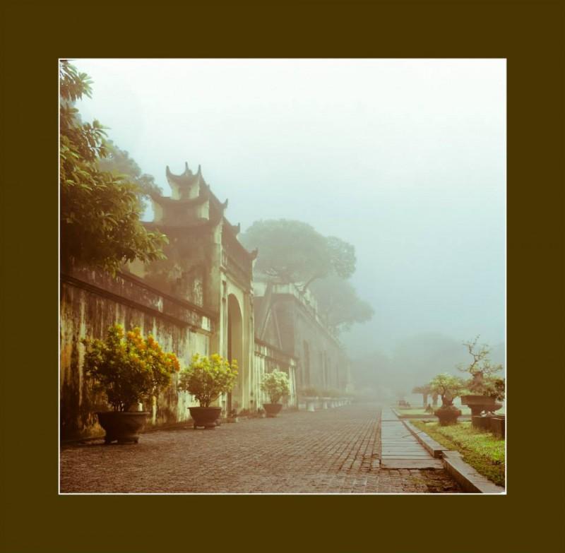 Thành cổ Hà Nội (Ảnh: KTS Nguyễn Phú Đức)