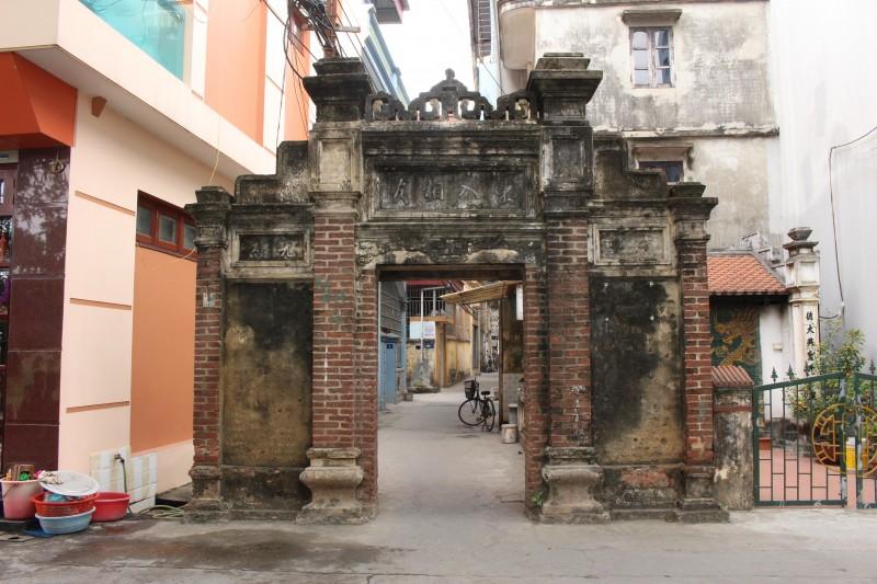 Cổng làng Trang Liệt- Trang Hạ