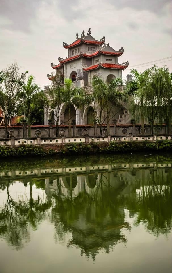 Đền Hai Bà Trưng - Mê Linh