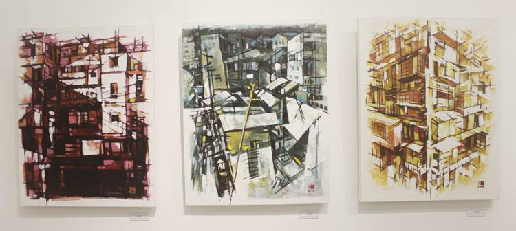 Tác phẩm của Artist, Giảng viên Hải Lê Minh Chất liệu: Sơn dầu
