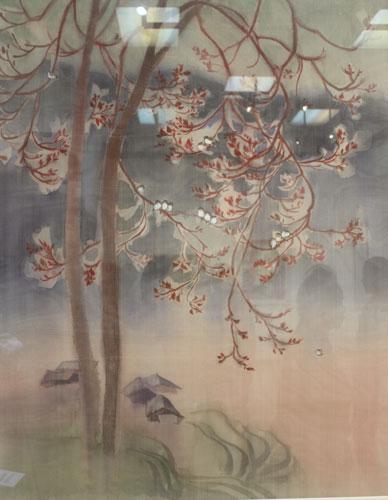 """Tác phẩm sơn dầu """"Hà Giang"""" của Nguyễn Đức Vinh"""