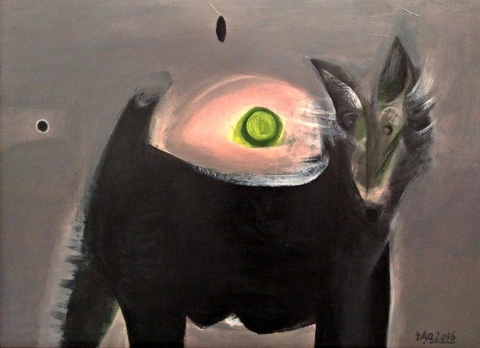 Tác phẩm của Artist , Giảng viên Đỗ khắc Đạo Chất liệu: Sơn dầu