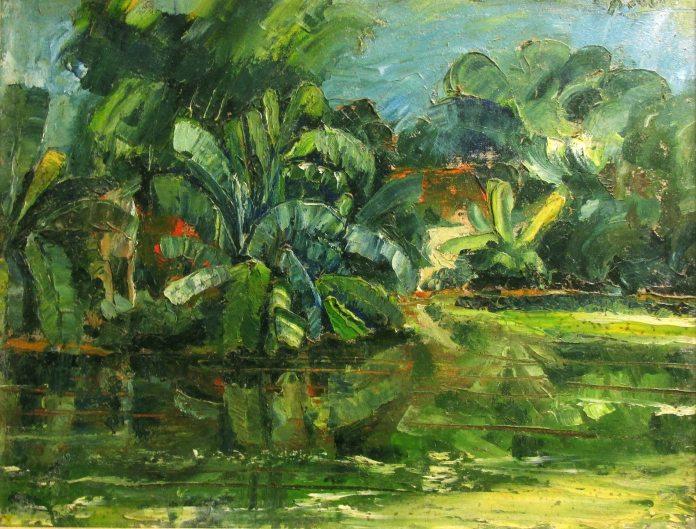 Tác phẩm của Artist, Giảng viên Nguyễn Đức Quang Chất liệu: Sơn dầu