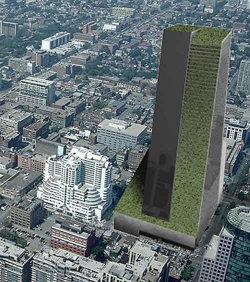 Tòa nhà khổng lồ 58 tầng ở trung tâm Toronto thực sự là một khu vườn thẳng đứng như tên gọi SkyFarm.