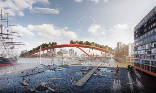 Dự án quy hoạch lớn cho trung tâm thành phố Amsterdam