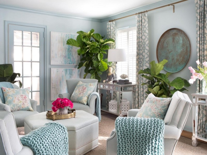 Relaxing 5 ways to make a small room look bigger