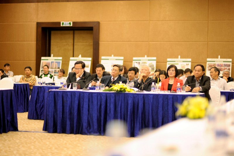 Hội thảo thu hút sự quan tâm của đông đảo các chuyên gia và KTS