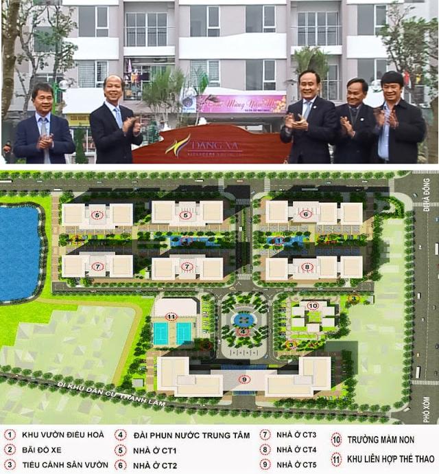 Dự án nhà ở xã hội tại Khu đô thị mới Đặng Xá, Gia Lâm (Hà Nội)