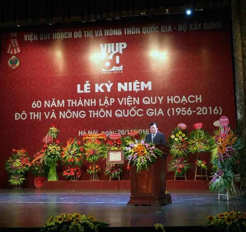 Phó thủ tướng Trịnh Đình Dũng phát biểu tại buổi lễ