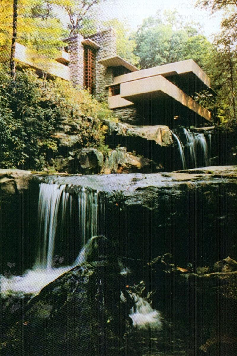 """Công trình """"Biệt thự trên thác"""" của KTS Frank Lloyd Wright (ảnh tư liệu)"""