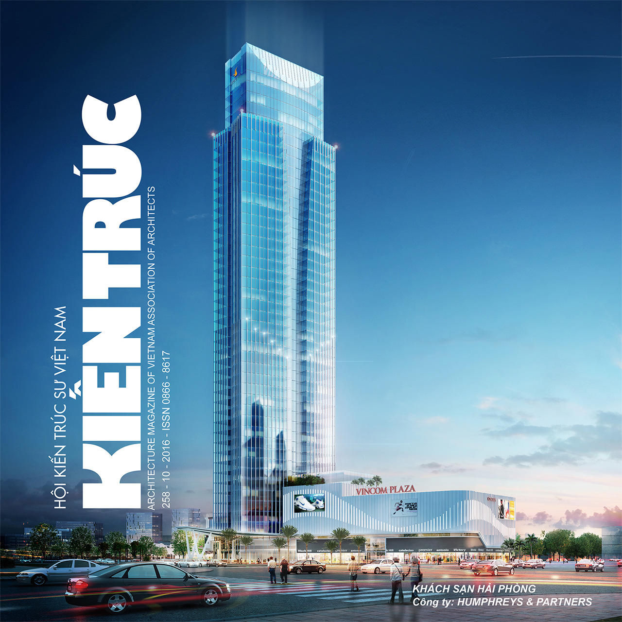 Tạp chí kiến trúc số 10 - 2016