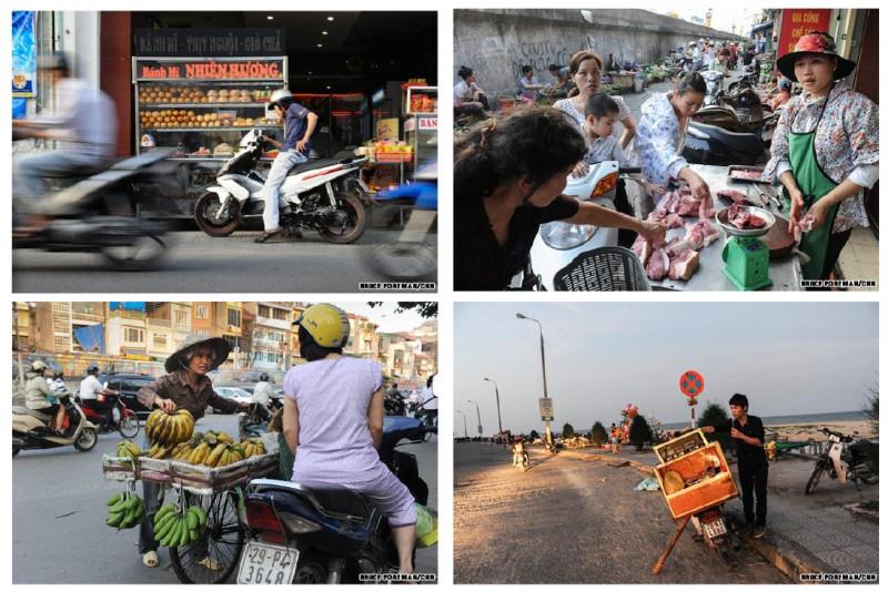 Xe máy – sự tiện lợi không thể chối bỏ đối với phong cách sống và nền kinh tế của Việt Nam (Nguồn: Bruce Foreman)