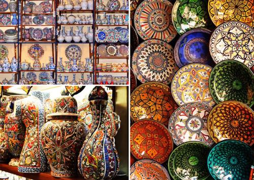 Trang trí nhà cửa bằng gốm sứ Thổ Nhĩ Kỳ