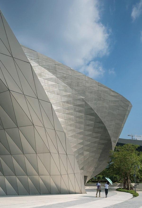 Bảo tàng tạo thành một điểm hẹn văn hóa cũng như một địa điểm tổ chức triển lãm kiến trúc