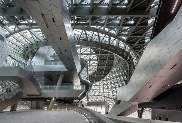 Tòa nhà kết hợp hai tổ chức độc lập để tạo thành một cơ sở văn hóa mới