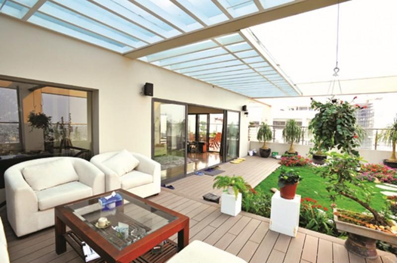 Không gian căn hộ Penthouse, chung cư Hapulico, Hà Nội